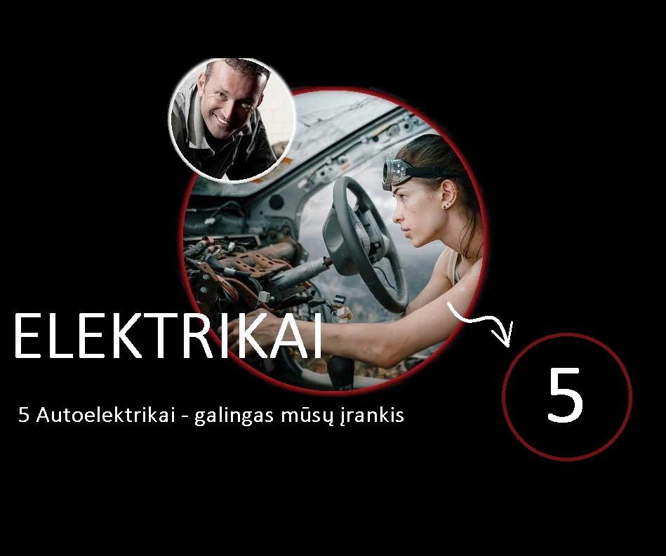 Automobiliu elektrikas kaune autoservisas