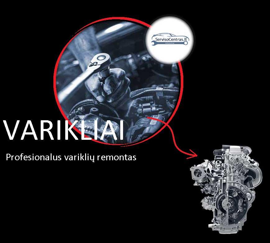 Toyota variklio remontas kaune